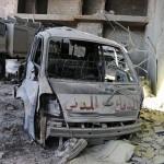 قصف يستهدف مركزاً للدفاع المدني في كفرزيتا