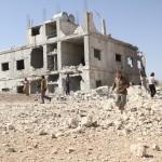 استهداف مشفى الرحمن في بلدة التح 19/9/2017