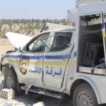 القصف على إدلب يستهدف مراكز الدفاع المدني