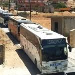مقاتلو داعش ينتقلون إلى دير الزور بحماية النظام