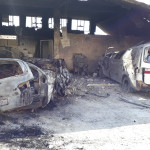 استهداف مشفى مغارة الرحمة في خان شيخون 19/9/2017