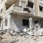 استهداف المركز التخصصي لأذيات الحبل الشوكي في دوما 26/9/2017