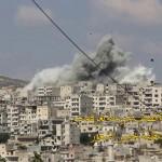 عمليات الدفاع المدني خلال استهداف محافظة إدلب-أيلول 2017