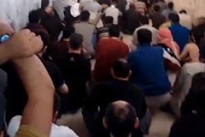 معتقلو حمص المركزي يواصلون إضرابهم لليوم الخامس