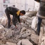 مقتل أسرة كاملة في قصف على كفربطنا