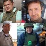 إصابة أربعة صحفيين روس بانفجار لغم
