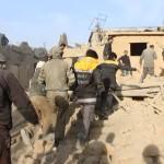 مجزرة في قصف على مديرا في ريف دمشق