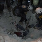 من ضحايا قصف الطيران الحربي الروسي والنظام السوري على ريف إدلب