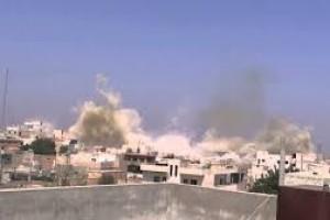 مقتل وإصابة مدنيين في سراقب