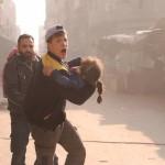 مجزرة في قصف مدفعي على دوما