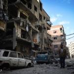 الغوطة الشرقية تحت جحيم القصف الجوي والصاروخي