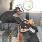الطيران الروسي يستهدف مركزاً للدفاع المدني في إدلب