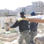 الطيران الحربي يستهدف سيارة إسعاف في الغوطة