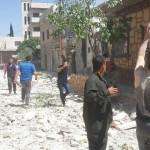 استهداف كفرنبل وسجنة بريف إدلب