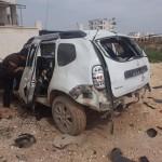 مقتل قائد شرطة دانا الحرة بانفجار سيارته