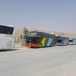 خروج الدفعة الثالثة من مهجّري ريف حمص الشمالي