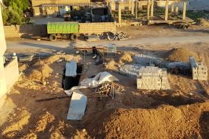 وحدات حماية الشعب تحفر أنفاقاً وسط بيوت المدنيين