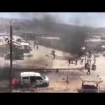 مجزرة بانفجار مفخختين في عفرين