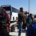 أول دفعة من مهجري درعا تغادر نحو إدلب