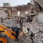 مجزرة في ريف حلب بقصف جوي