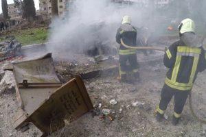 تفجيران في إدلب يؤديان لمجزرة