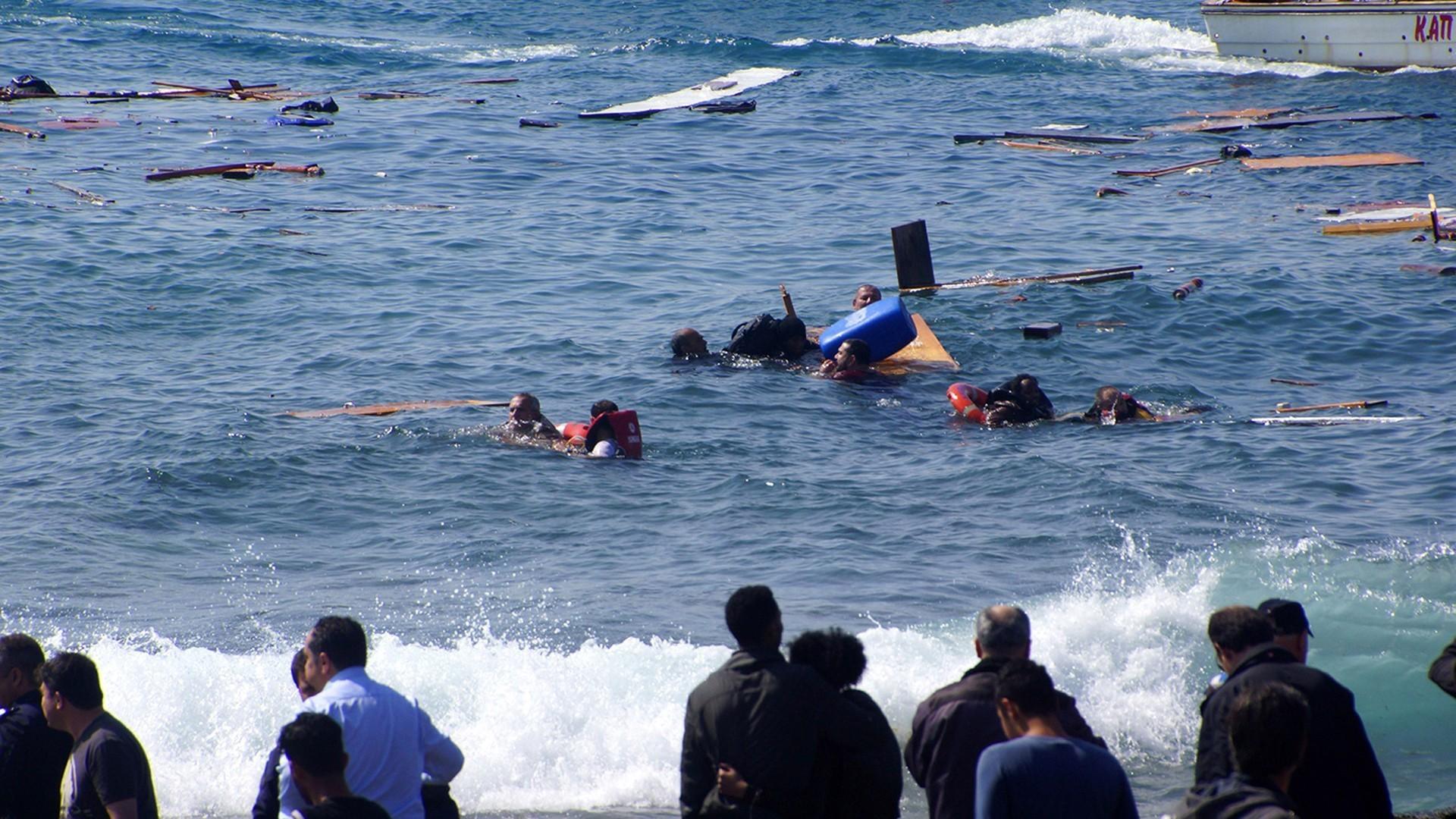 زيادة غرق طالبي اللجوء السوريين