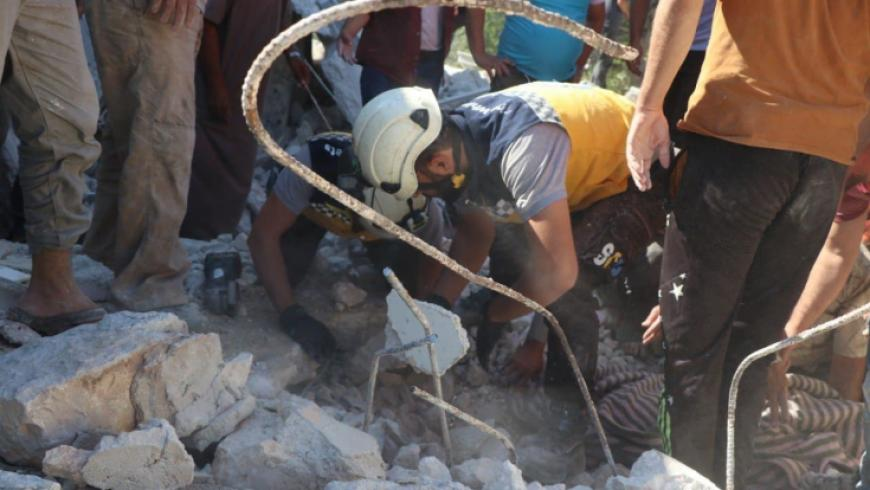 مجزرة بقصف لقوات النظام على ريفي إدلب وحلب